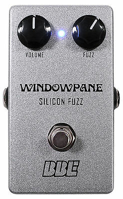 BBE Windowpane Silicon Fuzz Distortion Guitar Effect Pedal w/ True Bypass