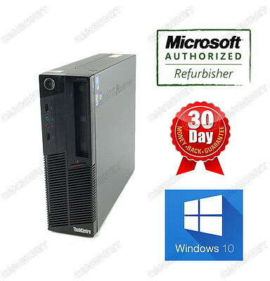Lenovo Thinkcentre SFF M90 3245 i3 3.2Ghz 4G 250G DVDRW Windows 10 Professional