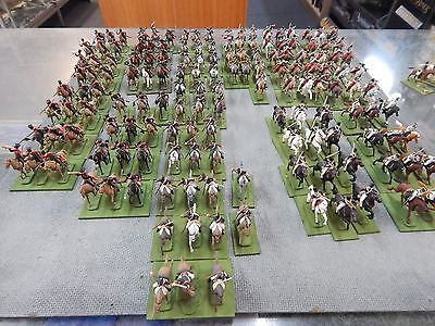 1/72 scale plastic painted Napoleonic Russian Cavalry