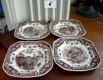 Johnson Brothers HIS MAJESTY Square Salad Plates - NEW
