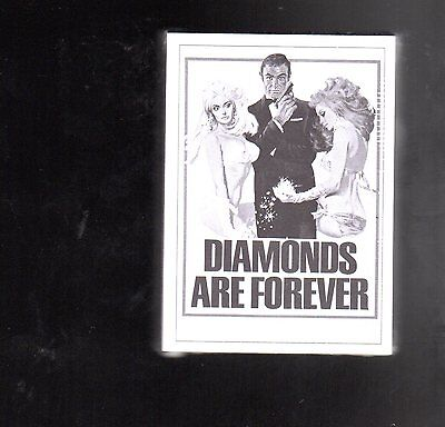 2016 James Bond Archives  Spectre Edition Diamonds are Forever card set