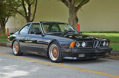 1988 BMW M6 E24 Sharknose M  Lightly Modified - Clean Carfax - Fully Serviced - BBS - Awesome Driver READY!