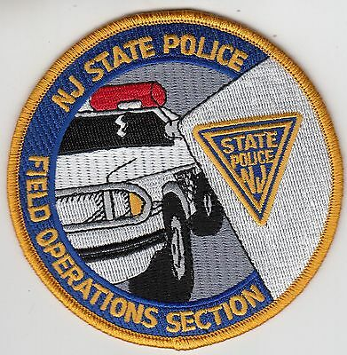 New Jersey State Police Field Operations Section Patch Nj