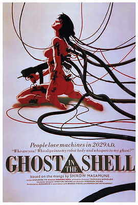 GHOST IN THE SHELL Movie POSTER PRINT 27x40