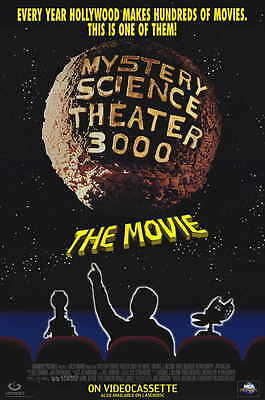 MYSTERY SCIENCE THEATER 3000 Movie Promo POSTER B Trace Beaulieu