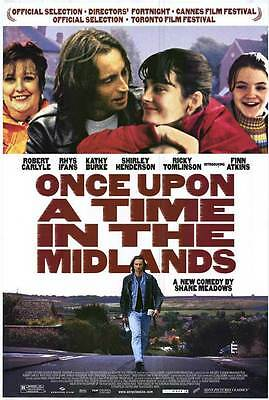 2002 ONCE UPON A TIME IN THE MIDLANDS Movie POSTER 27x40