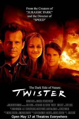 TWISTER Movie POSTER 11x17 G Bill Paxton Helen Hunt Cary Elwes Jami Gertz Alan