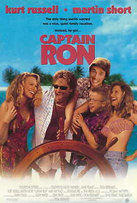 CAPTAIN RON Movie POSTER PRINT 27x40 Kurt Russell Martin Short Mary Kay Place