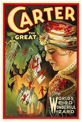 CARTER THE GREAT Movie POSTER 27x40 B