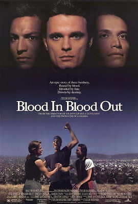 BLOOD IN. . .BLOOD OUT: BOUND BY HONOR Movie POSTER 27x40 Thomas F. Wilson