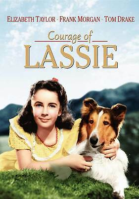 COURAGE OF LASSIE Movie POSTER 27x40