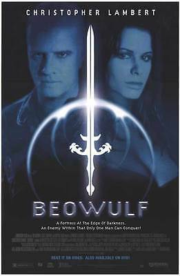 BEOWULF Movie POSTER 27x40 Christopher Lambert Rhona Mitra Oliver Cotton G tz