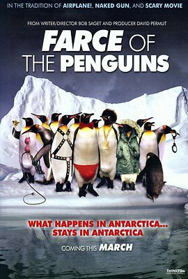 FARCE OF THE PENGUINS Movie POSTER 27x40