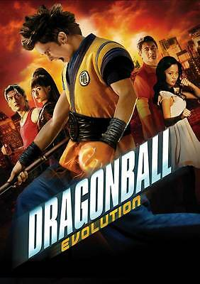 DRAGONBALL EVOLUTION Movie POSTER 27x40 C Justin Chatwin Joon Park Christopher