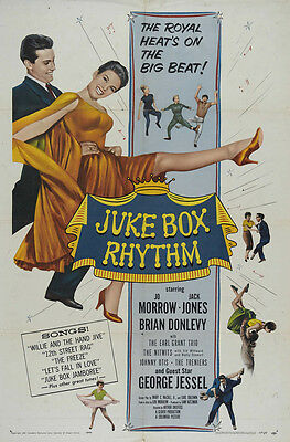 JUKE BOX RHYTHM Movie POSTER 27x40 Jo Morrow Jack Jones Brian Donlevy George