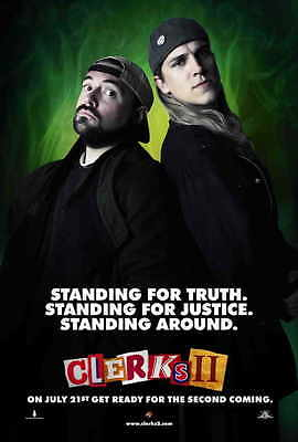 CLERKS II Movie POSTER 27x40 B Kevin Smith Brian O'Halloran Jeff Anderson
