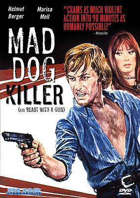 MAD DOG KILLER Movie POSTER 27x40