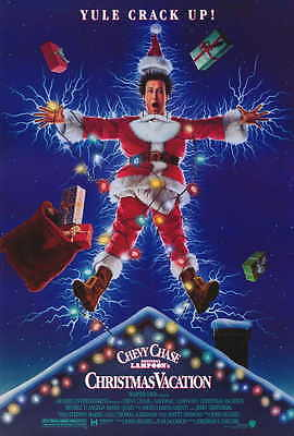 NATIONAL LAMPOON'S CHRISTMAS VACATION Movie POSTER 27x40 Chevy Chase