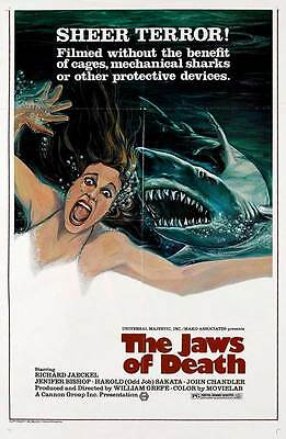 MAKO: THE JAWS OF DEATH Movie POSTER 27x40 B