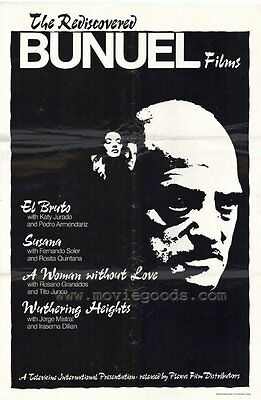 BUNUEL FILMS THE REDISCOVERED Movie POSTER 27x40