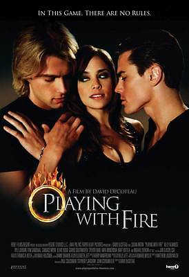 PLAYING WITH FIRE Movie POSTER 27x40