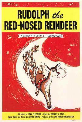 RUDOLPH THE RED NOSED REINDEER Movie POSTER 27x40