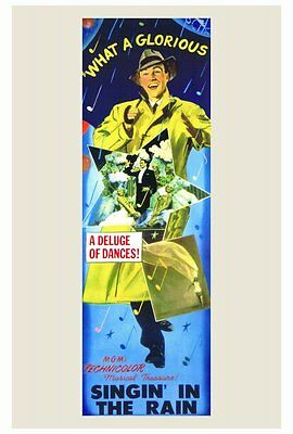 SINGIN' IN THE RAIN Movie POSTER 27x40 Gene Kelly Donald O'Connor Jean Hagen