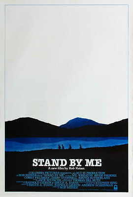 STAND BY ME Movie POSTER 27x40 E River Phoenix Wil Wheaton Jerry O'Connell Corey
