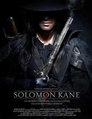 SOLOMON KANE Movie POSTER 27x40 French C James Babson Laura Baranik Geoff Bell