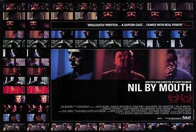 NIL BY MOUTH Movie POSTER 27x40 Ray Winstone Kathy Burke Charlie Creed Miles