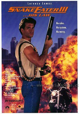 SNAKEEATER 3 Movie POSTER 27x40