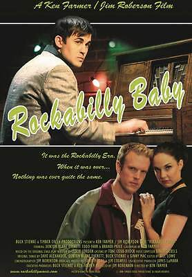 ROCKABILLY BABY Movie POSTER 27x40 Virginia Field Douglas Kennedy Les Brown