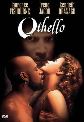 "OTHELLO Movie POSTER 27x40 C Laurence ""Larry"" Fishburne Irene Jacob Kenneth"