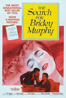 THE SEARCH FOR BRIDEY MURPHY Movie POSTER 27x40 Teresa Wright Louis Hayward