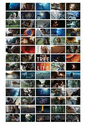 THE TREE OF LIFE Movie POSTER Canadian C 27x40 Brad Pitt Sean Penn