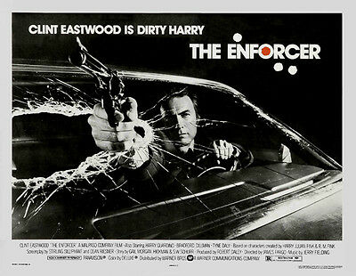THE ENFORCER Movie POSTER 30x40 Clint Eastwood Tyne Daly Harry Guardino Bradford