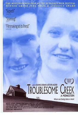 TROUBLESOME CREEK A MIDWESTERN Movie POSTER 27x40