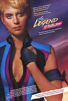 THE LEGEND OF BILLIE JEAN Movie POSTER 27x40 Helen Slater Peter Coyote Keith