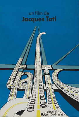TRAFFIC Movie POSTER 27x40 French Jacques Tati Maria Kimberly Marcel Fraval