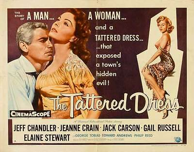 THE TATTERED DRESS Movie POSTER 20x40