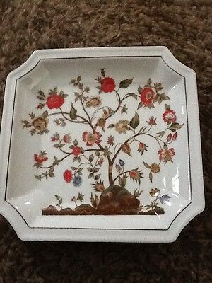 ANDREA BY SADEK SQUARE CHINA PLATE-JAPAN-#9353  Tree With Flowers