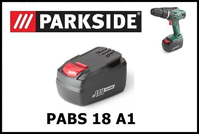 Bateria taladro Parkside 18v Li replacement Battery Drill Screwdriver PABS 18 A1