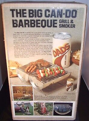 1970's Dad's Root Beer.  The Big Can-Do Barbeque Grill & Smoker.  BBQ.  Sealed!!