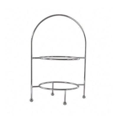 Display Stand for Trays & Platters, 2 Tier Round, Seafood, High Tea, Cakes