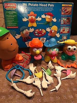 1995 Playskool Mr Potato Head Pals Game replacements - with Box