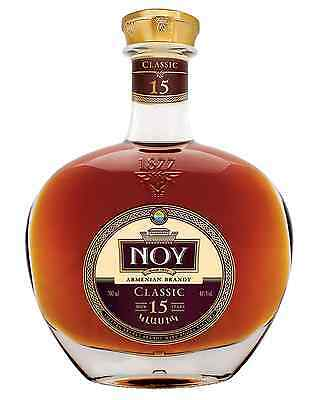 Noy Classic 15 Year Old Armenian Brandy 700mL bottle