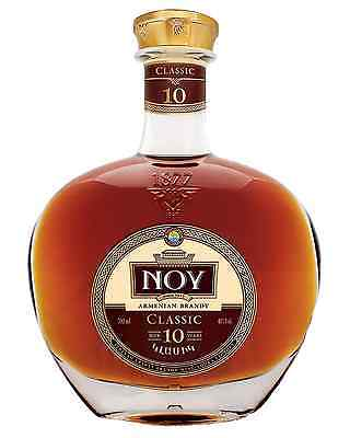 Noy Classic 10 Year Old Armenian Brandy 700mL bottle