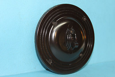 Vintage CM Round Bakelite Toggle Light Switch - 3-Way - Art Deco - Antique RARE