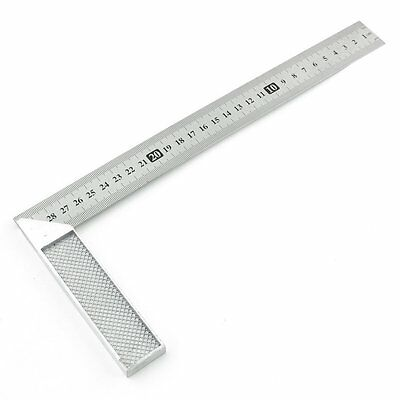 30cm Stainless Steel Right Measuring Angle Square Ruler CT