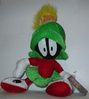 "Looney Tunes MARVIN the MARTIAN 9"" Stuffed Plush Toy RETIRED"